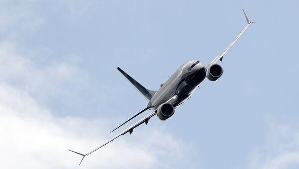 Авиалайнер Boeing 737 Max. Архивное фото