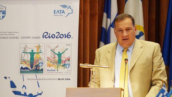 Председатель НОК Греции Спирос Капралос