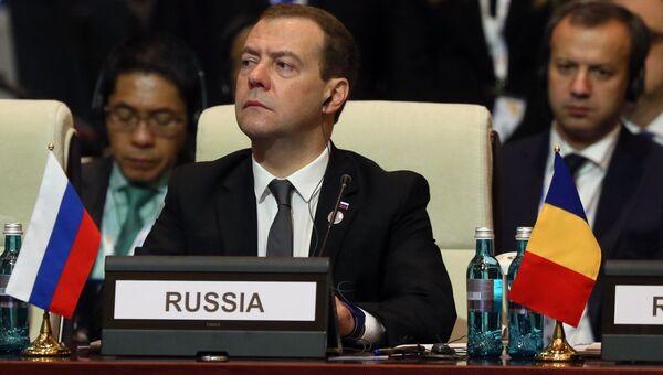 Премьер-министр РФ Д. Медведев на саммите АСЕМ в Монголии