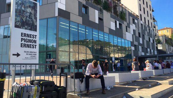 Больница в Ницце принявшая раненных в результате теракта
