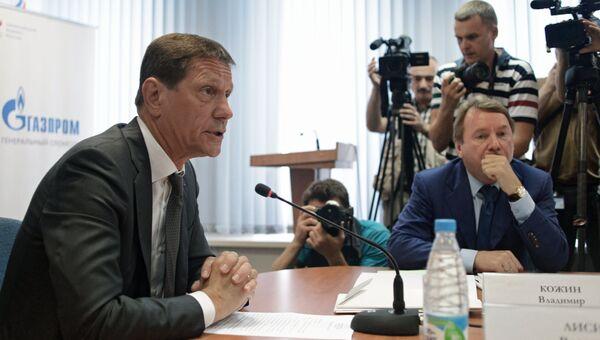 Президент Олимпийского комитета России Александр Жуков во время заседания Исполкома Олимпийского комитета России в Москве. 20 июля 2016