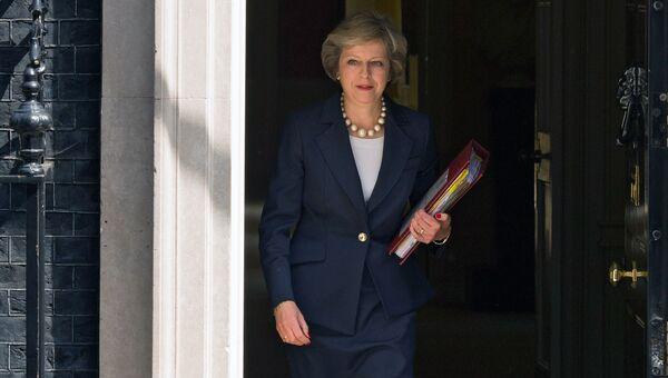 Премьер-министр Великобритании Т. Мэй. Архивное фото