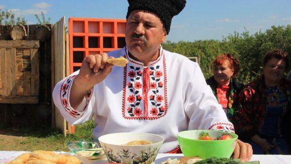 Фестиваль вареников на Алтае. Архив