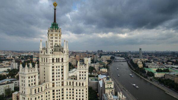 Жилой дом на Котельнической набережной в Москве. Архивное фото