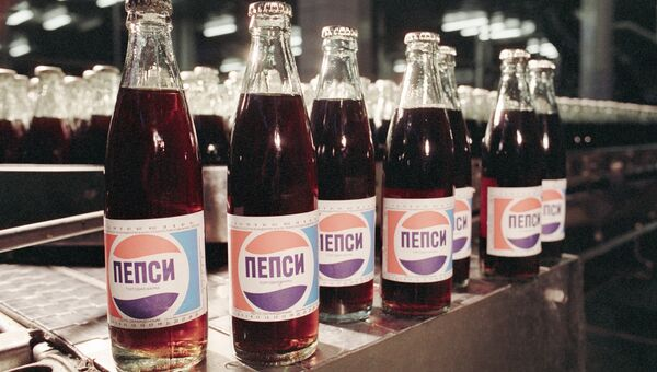 Пепси-кола, произведенная в СССР