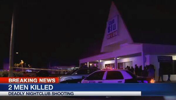Клуб Club Blu в городе Форт Майерс, в котором произошла стрельба. 25 июля 2016