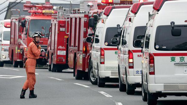 Кареты скорой помощи в Японии. Архивное фото