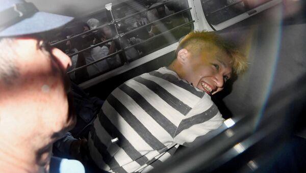 Сатоси Уэмацу, подозреваемый в массовом убийстве в доме инвалидов в японском городе Сагамихара
