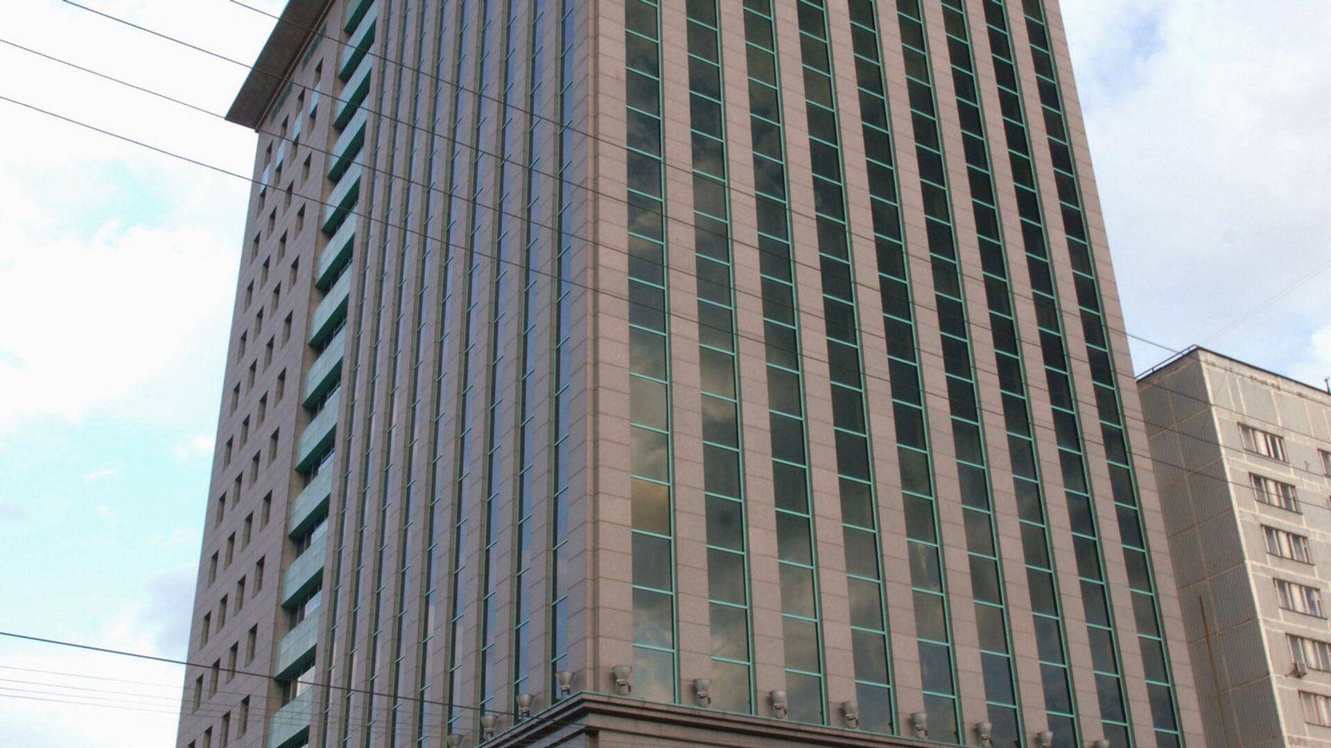 Здание нефтяной компании ЮКОС в Москве. 2007 год  - РИА Новости, 1920, 29.07.2021