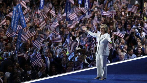 Кандидат в президенты США от демократов Хиллари Клинтон. Архивное фото