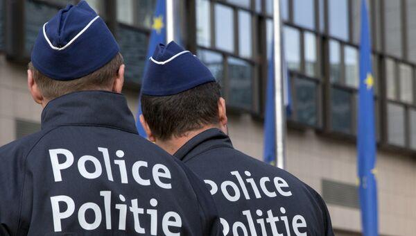 Бельгийские полицейские. Архивное фото