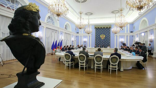 Заседание президиума Совета при президенте РФ по стратегическому развитию и приоритетным проектам. Архивное фото