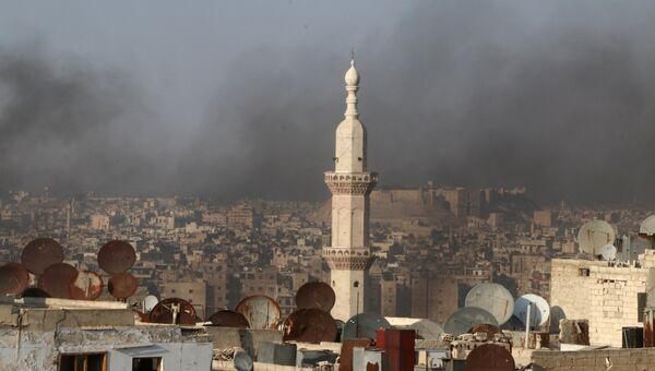 Сирийский город Алеппо. 1 августа 2016.