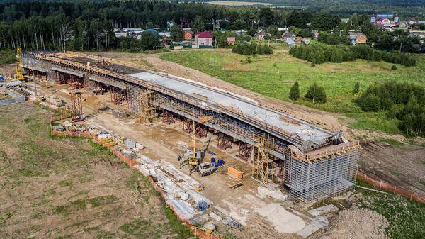 Строительство центральной кольцевой автомобильной дороги