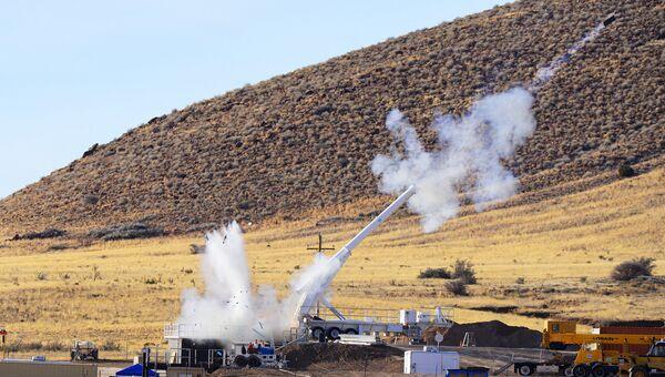 Тестовые испытания макета бомбы B61-12 в штате Нью-Мексико, США. 28 января 2015 года