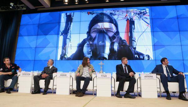 Пресс-конференция путешественника Федора Конюхова в Международном мультимедийном пресс-центре МИА Россия сегодня