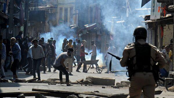 Беспорядки в индийском штате Джамму и Кашмир. 3 августа 2016