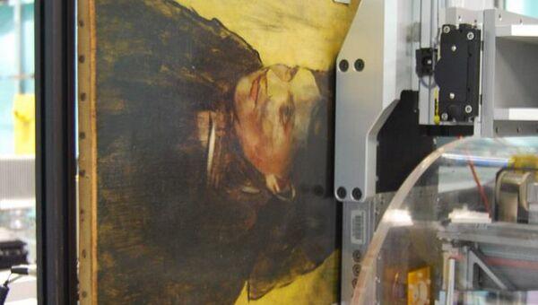 В этой картине французского импрессиониста Эдгара Дега был найден еще один портрет