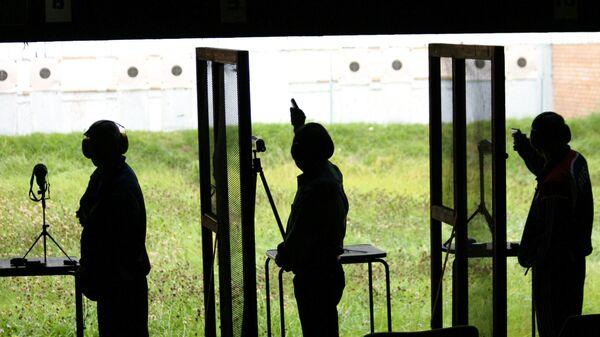 Соревнования по стрельбе. Архивное фото