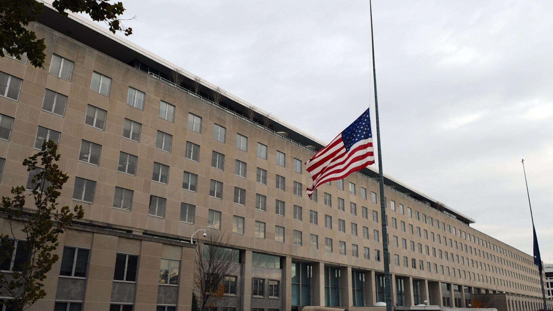 Здание Госдепартамента США в Вашингтоне - РИА Новости, 1920, 06.05.2021