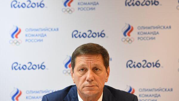 Президент Олимпийского комитета России Александр Жуков. Архивное фото