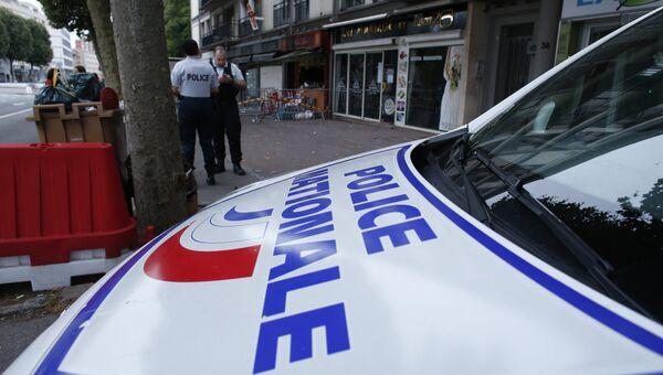 На месте пожара в баре французского Руана