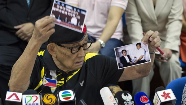 Бывший президент Филиппин Фидель Рамос. Архивное фото