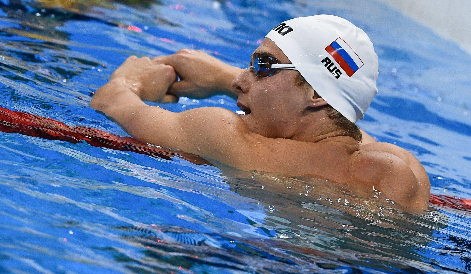 Российский пловец Владимир Морозов - РИА Новости, 1920, 06.07.2021