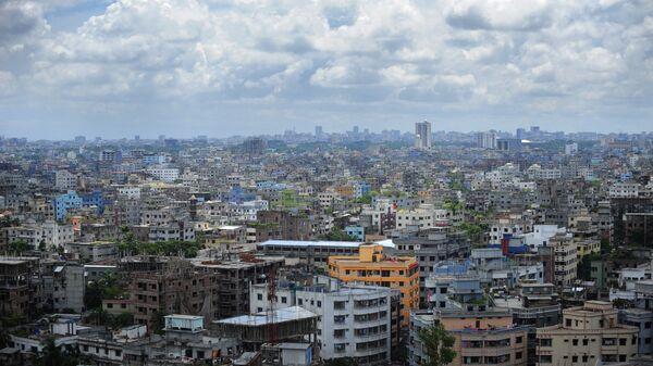 Панорама столицы Бангладеш города Дакка