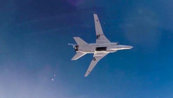 Дальний бомбардировщик ВКС РФ Ту-22М3. Архивное фото