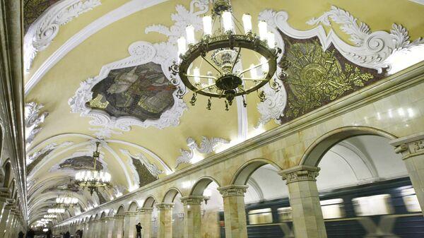 Станция Комсомольская Кольцевой линии Московского метрополитена