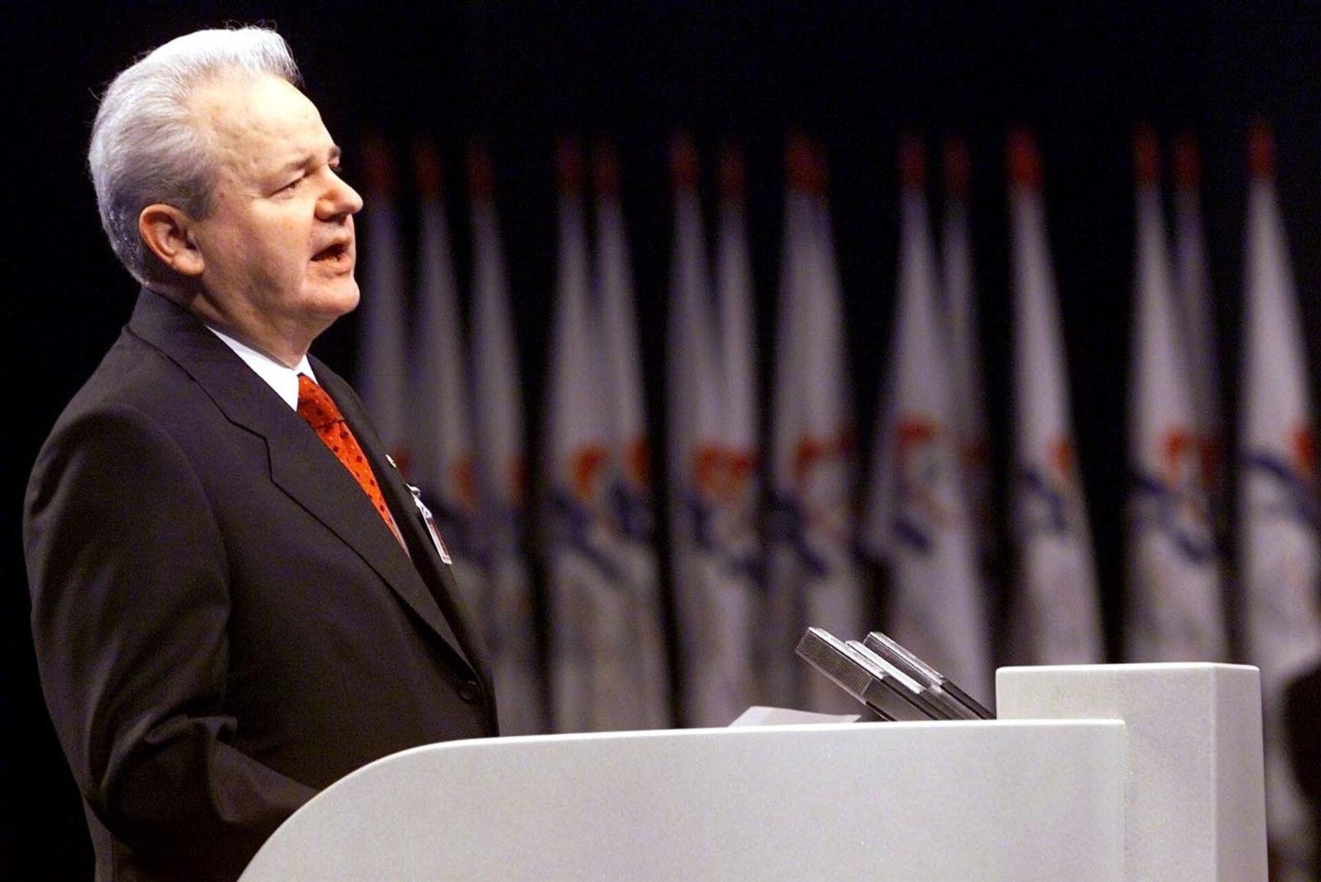 Бывший президент Югославии Слободан Милошевич - РИА Новости, 1920, 05.03.2021