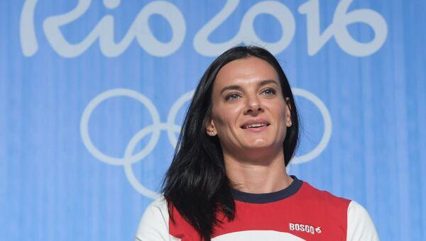 Двукратная олимпийская чемпионка в прыжках с шестом Елена Исинбаева. Архивное фото