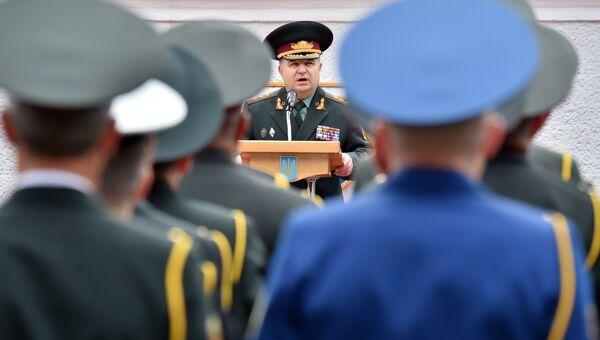 Министр обороны Украины Степан Полторак. Архивное фото