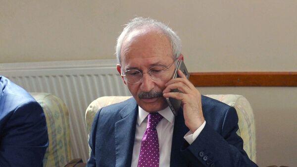 Лидер оппозиционной Народно-республиканской партии Турции Кемаль Кылычдароглу. Архивное фото