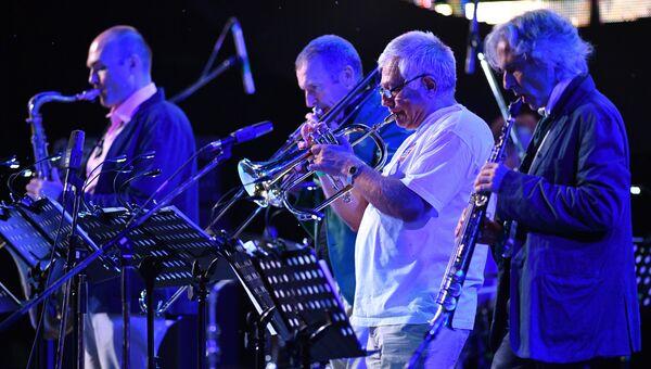 Участники International Jazz Quintet Якова Окуня во время выступления на фестивале Koktebel Jazz Party