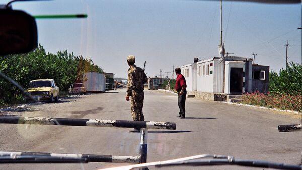 Граница между Таджикистаном и Узбекистаном