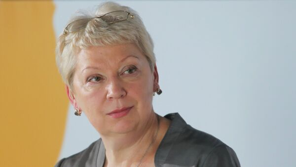 Министр образования и науки РФ Ольга Васильева на Общероссийском родительском собрании