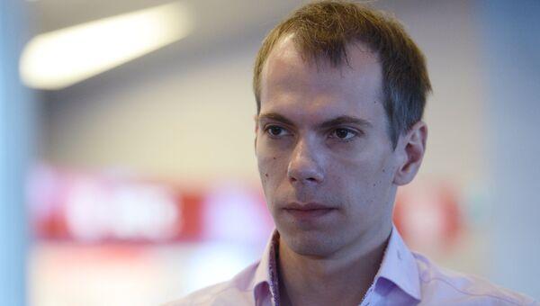 Россиянин Сергей Миронов в московском аэропорту Внуково