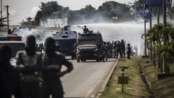 Военные в Габоне
