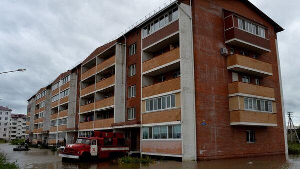 Последствия циклона в Приморском крае. Архивное фото