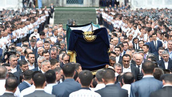 Похороны президента Узбекистана Ислама Каримова, 3 сентября 2016