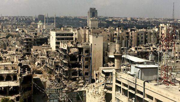 Город Алеппо. Архивное фото
