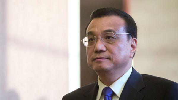 Премьер Государственного совета Китайской Народной Республики Ли Кэцян