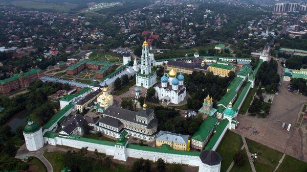 Троице-Сергиева лавра в городе Сергиевом Посаде. Архивное фото