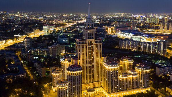 Жилой комплекс Триумф Палас в Москве. Архивное фото