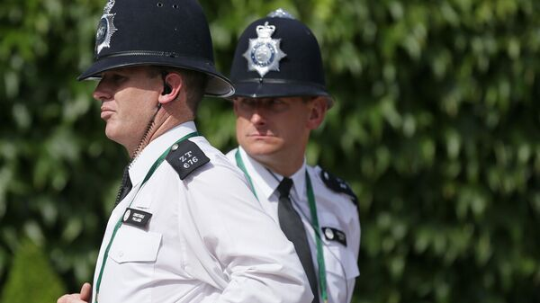 Сотрудники полиции в Великобритании. Архивное фото