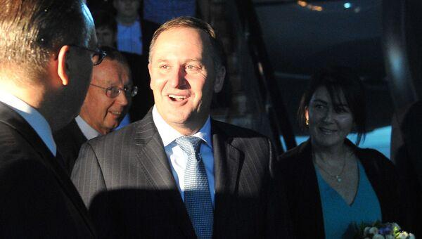 Премьер-министр Новой Зеландии Джон Кей с супругой. Архивное фото