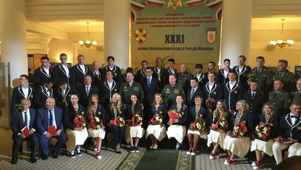 Росгвардия наградила олимпийских призеров Рио-2016 офицерскими званиями
