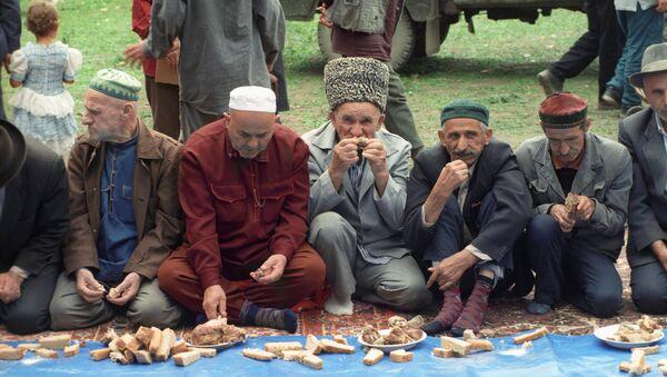 В день праздника жертвоприношения Курбан-Байрам. Архивное фото